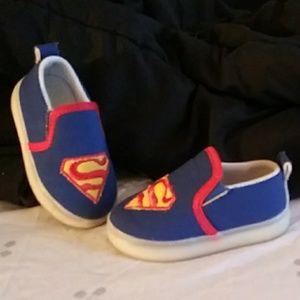 Other - Toddler Superman Slip on shoes